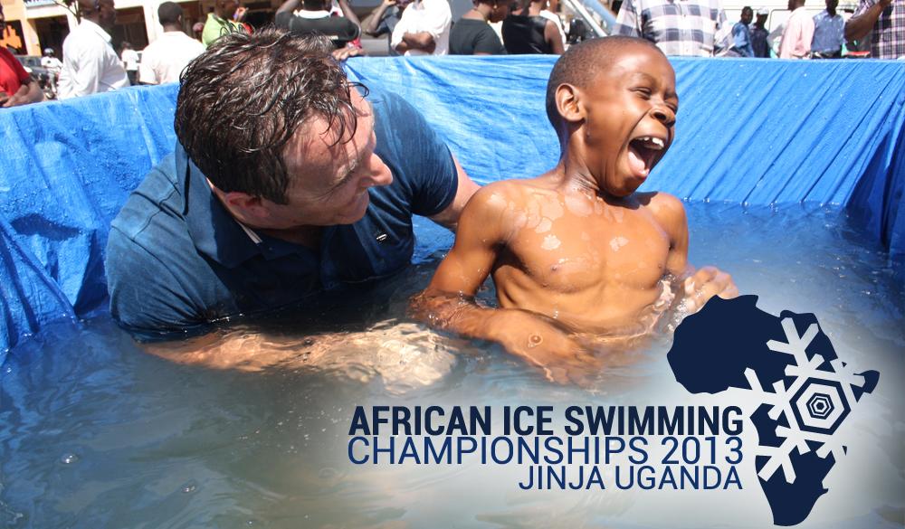 Ice Dip At press Conference in Jinja
